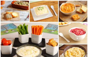 starters collage-of-sauces-dips-pates-and-spreads