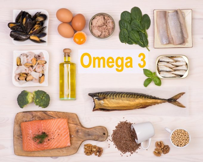 Food rich in omega-3 fatty acid