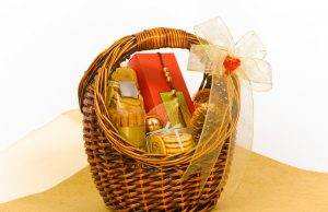 Beautiful cookie hamper gifts basket
