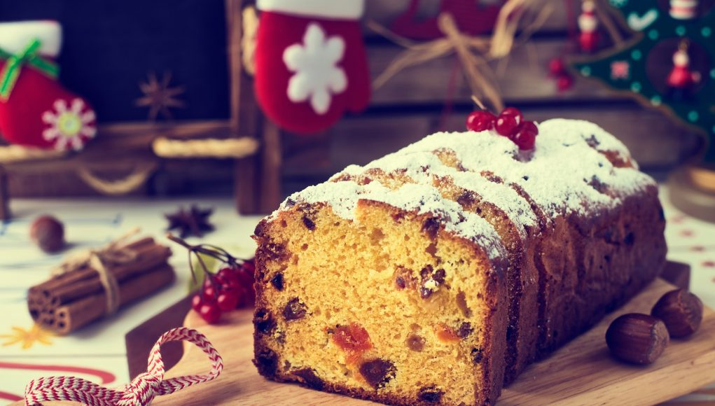 Christmas Cake pudding