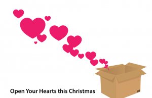 christmas Hearts-taking-off-from-a-box