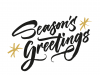 greetings Season's-Greetings.-Hand-drawn-creative-calligraphy