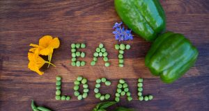 think global,eat local