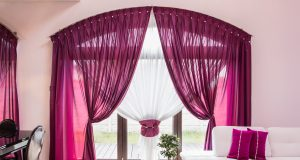 big-window-elegant-drapes curtain