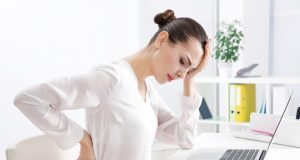 incorrect-posture-concept-young-woman-back computer posture injury
