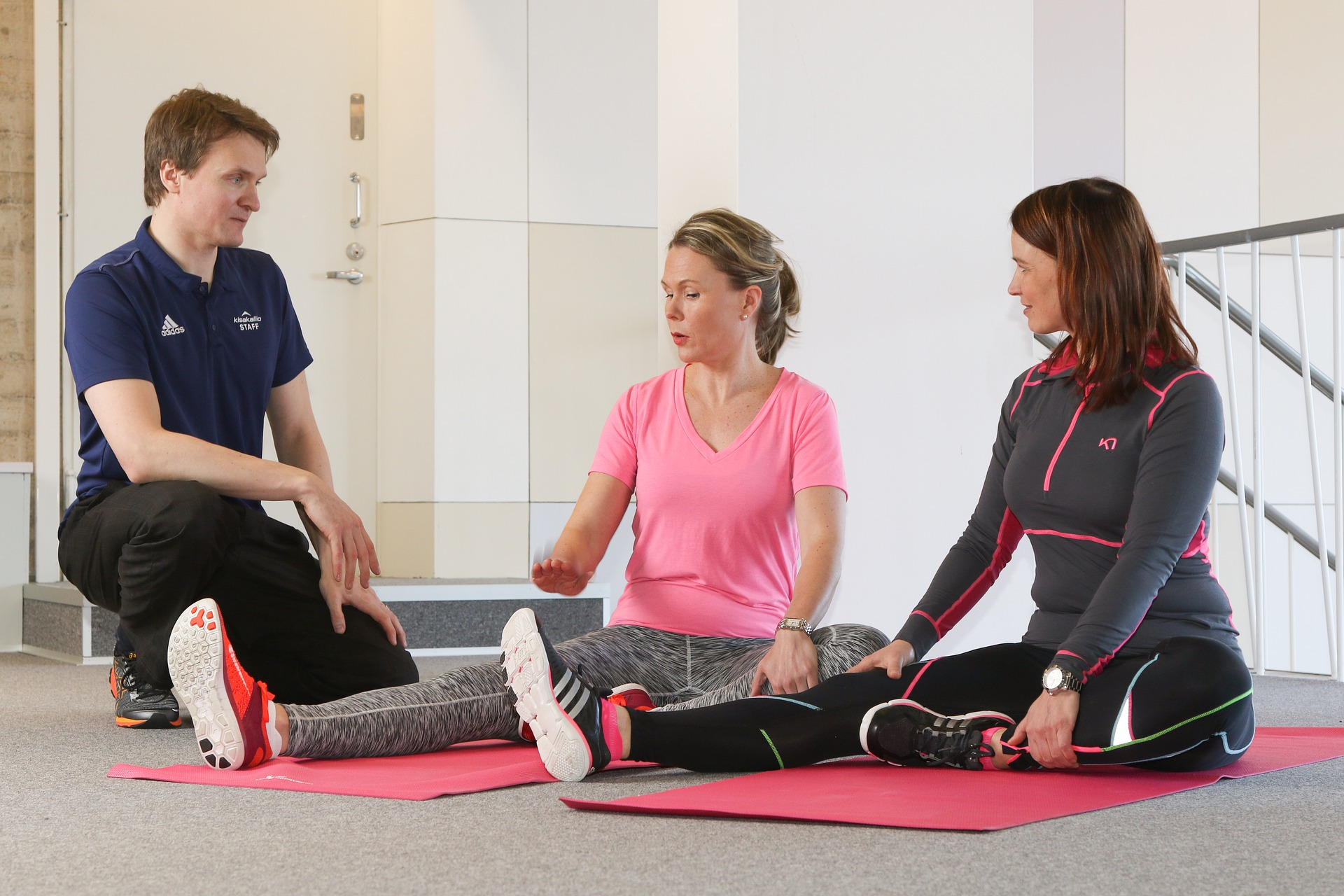 Personal training lowers injury rate.