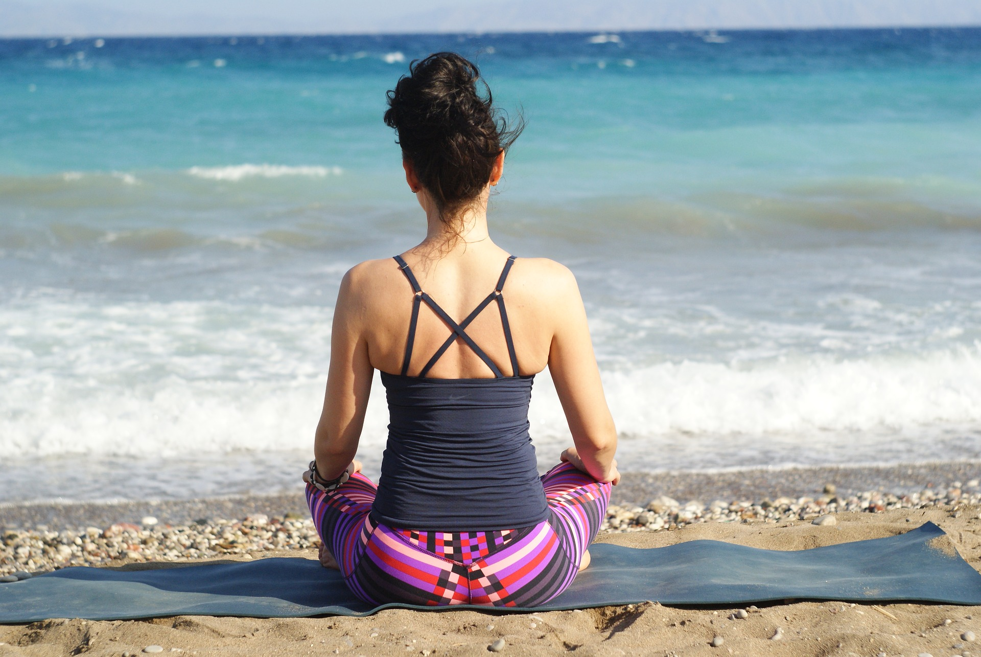 Yoga helps in breathing right.