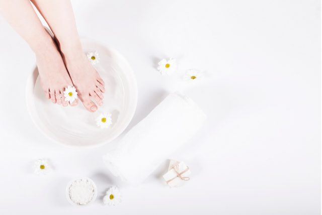 How to make your foot spa at home