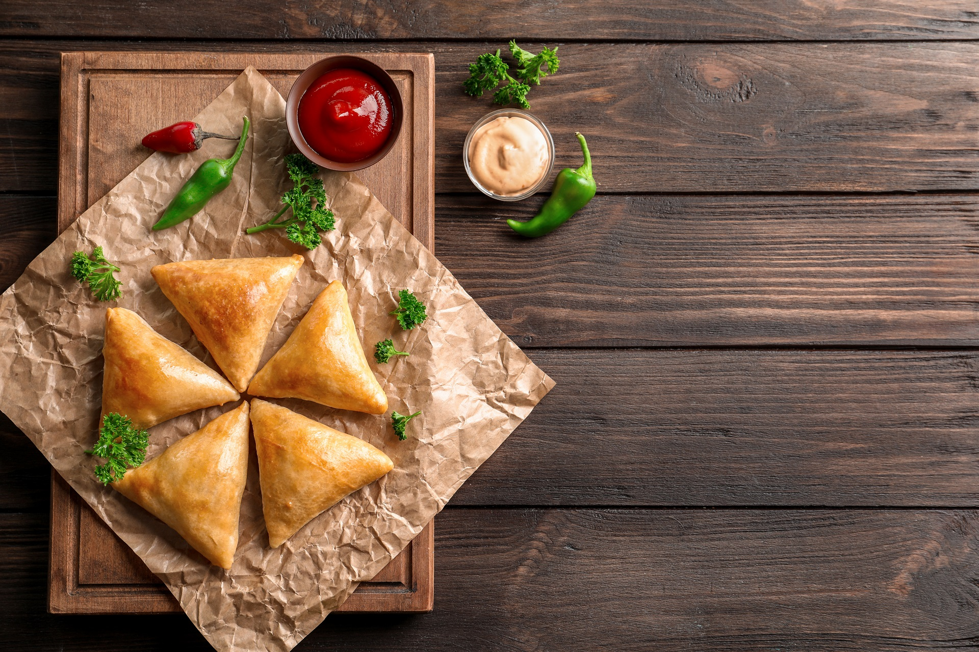 Cream cheese samosa recipe