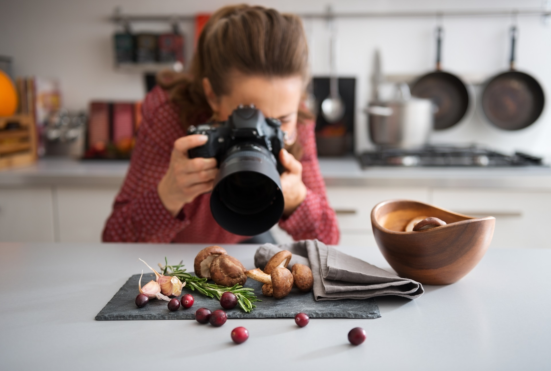 Product photography at home.
