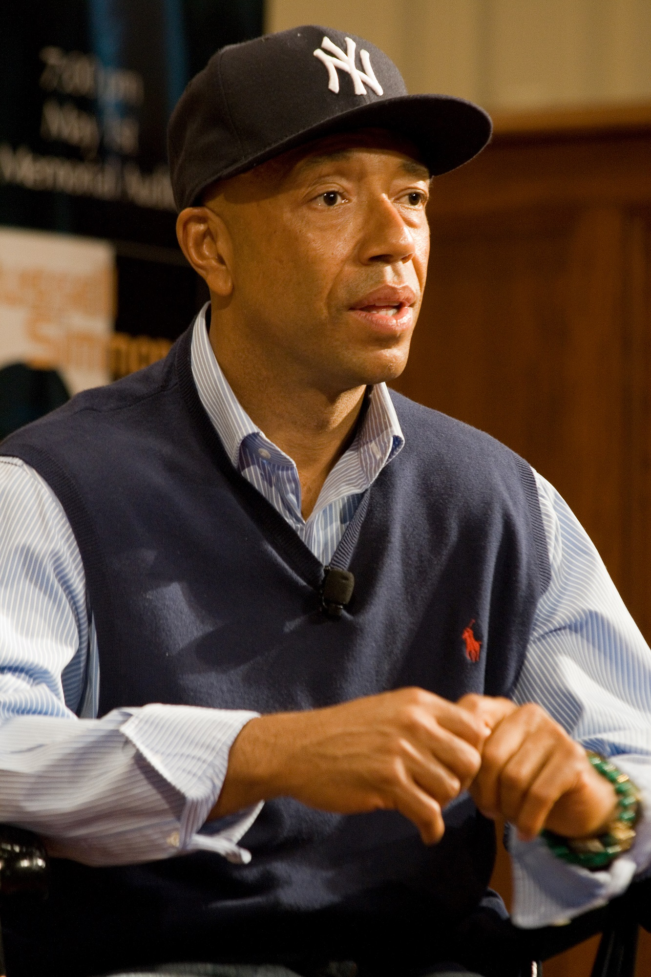 Russell Simmons is a vegan