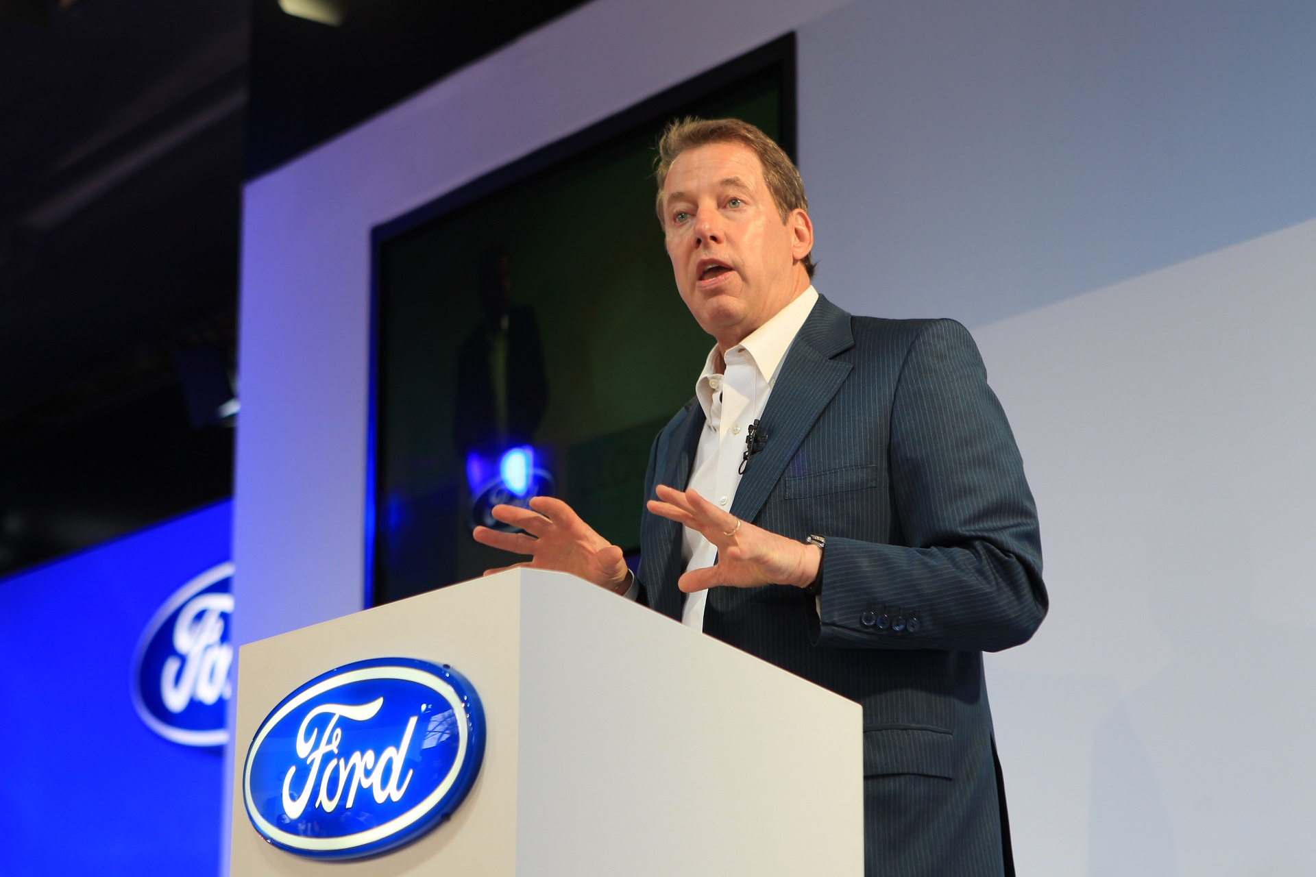 Bill Ford Jr. is a vegan entrepreneur.
