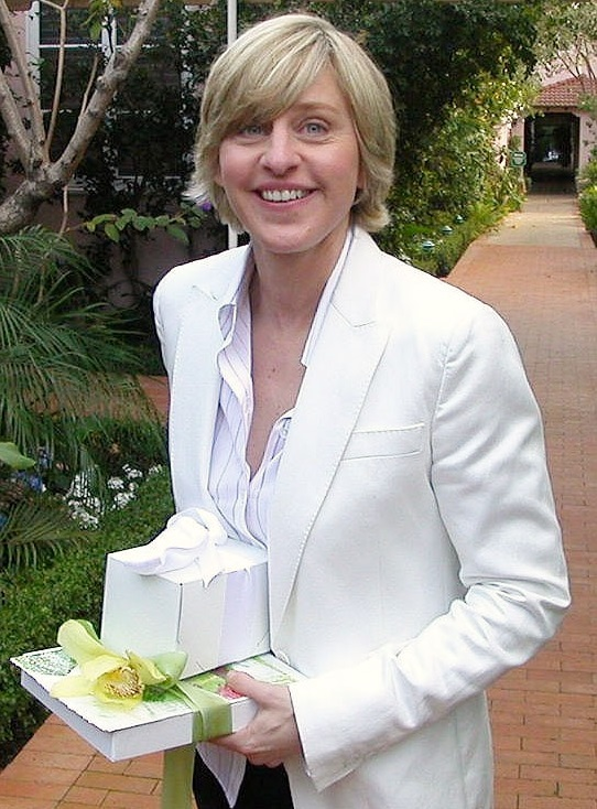 Ellen Degeneres is a vegan