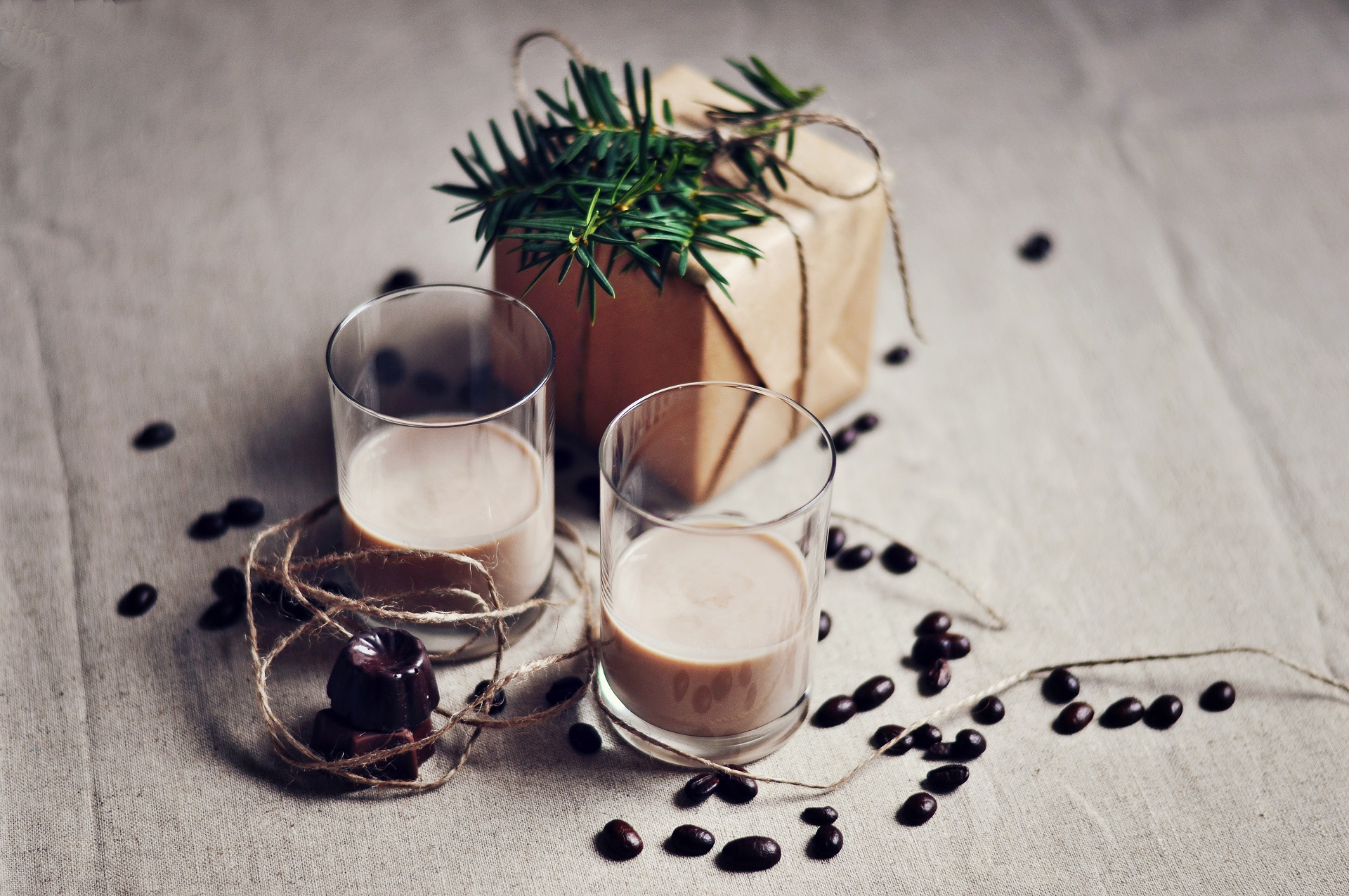 Homemade bailey's liqueur recipe.