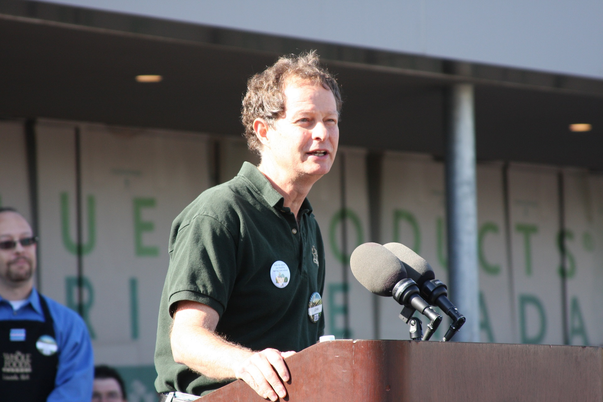 John Mackey is a vegan