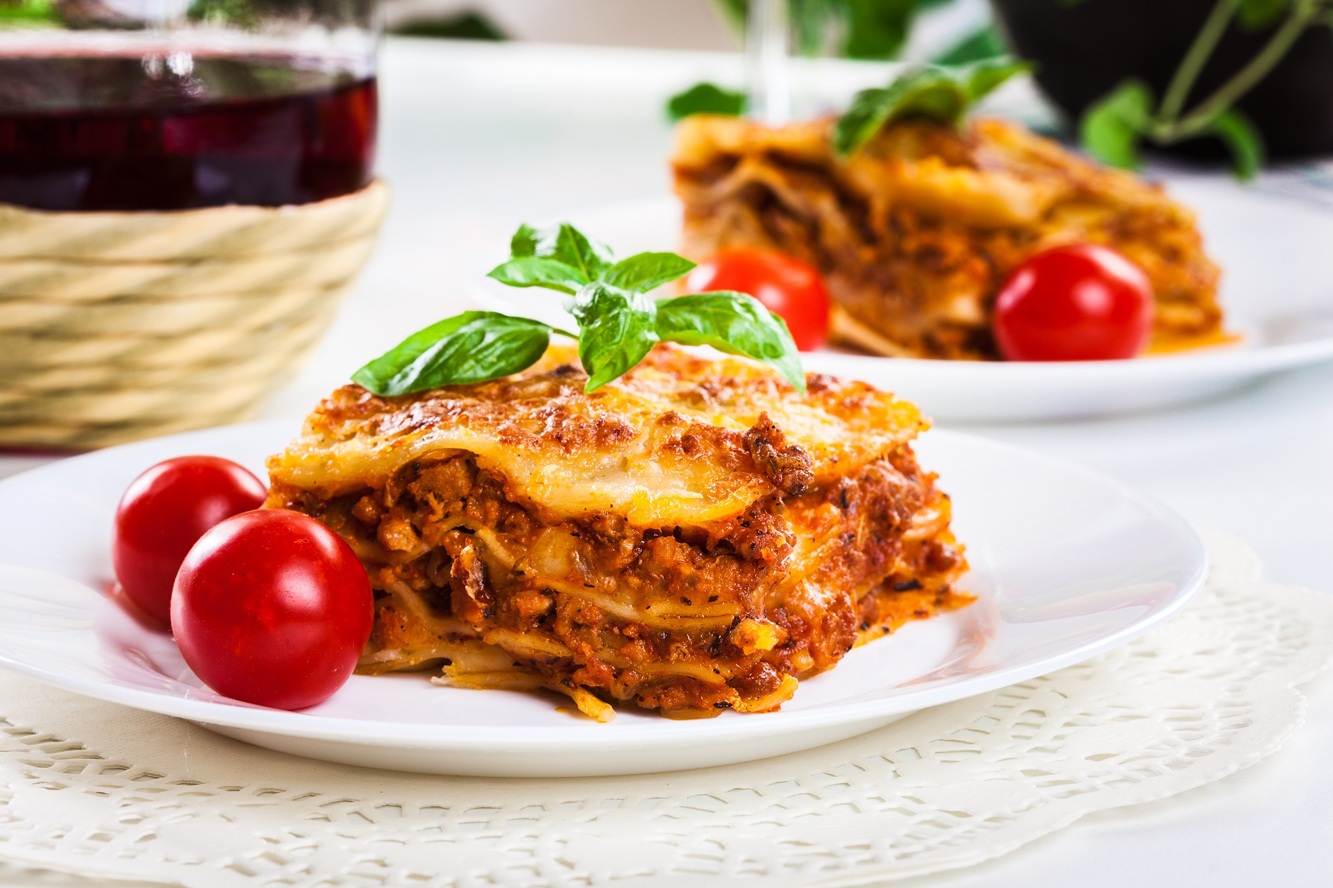 Lasagna is a type of pasta.