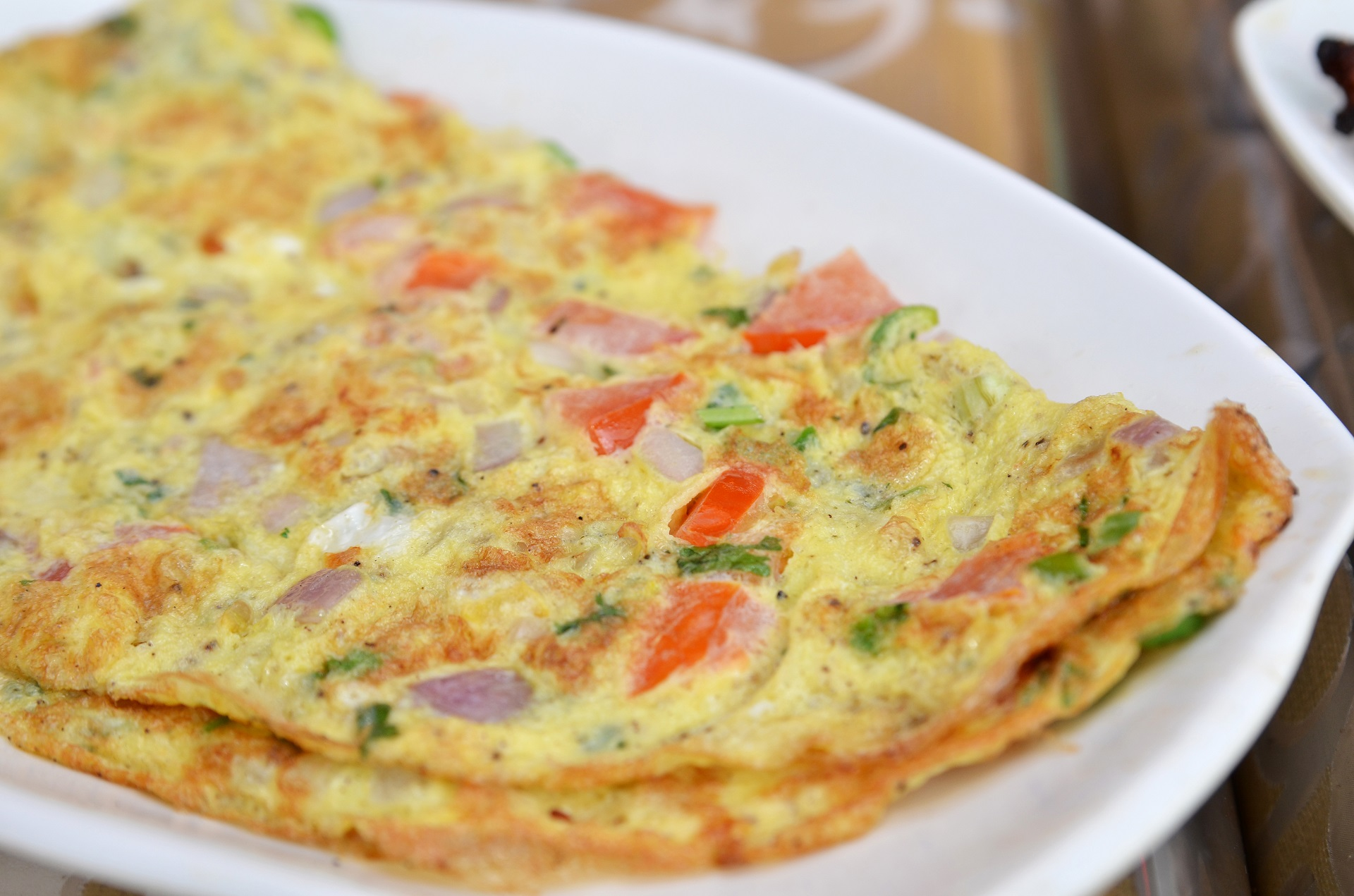 Recipe for Indian-style masala omelet