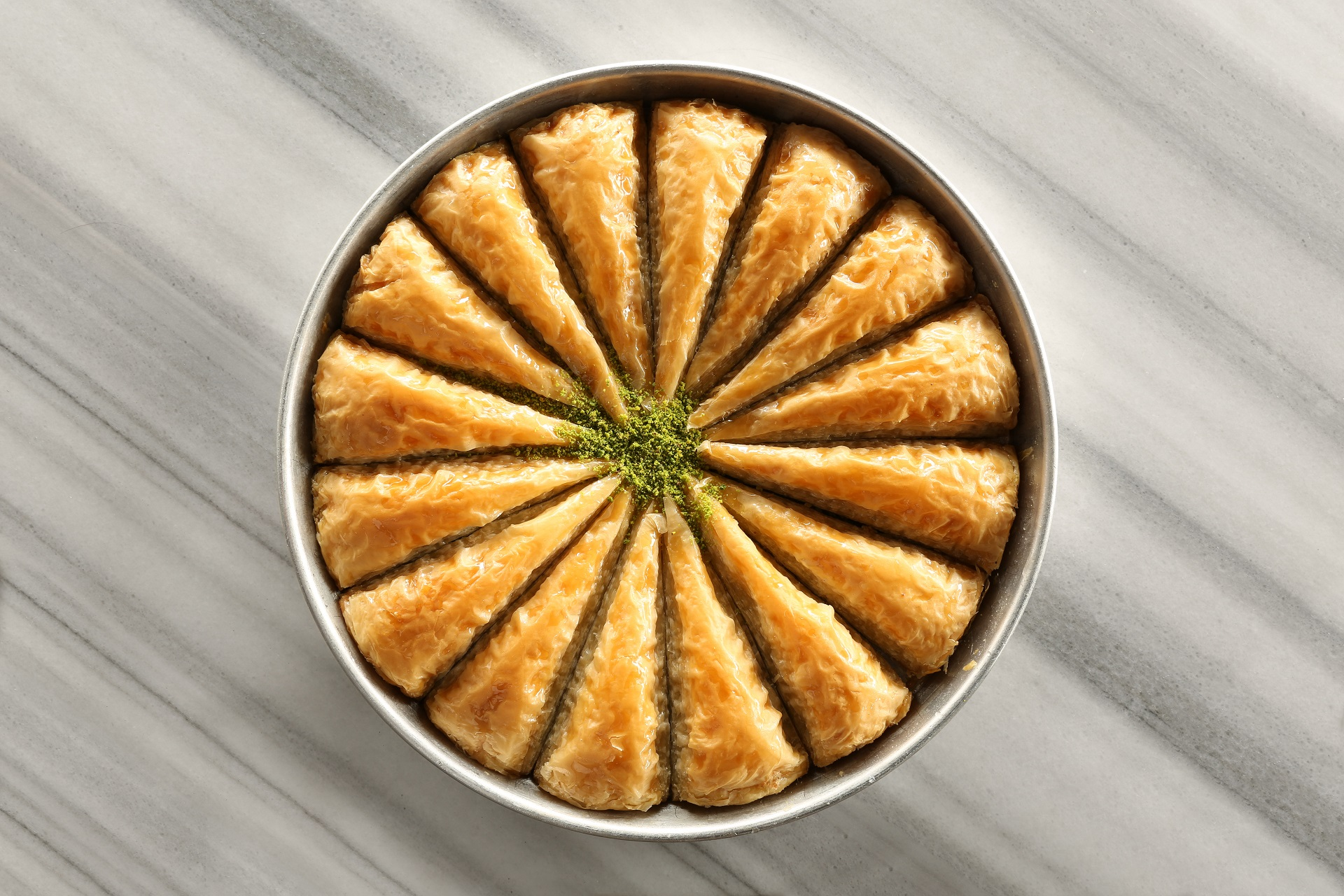 Baklava to replace the traditional birthday cake.