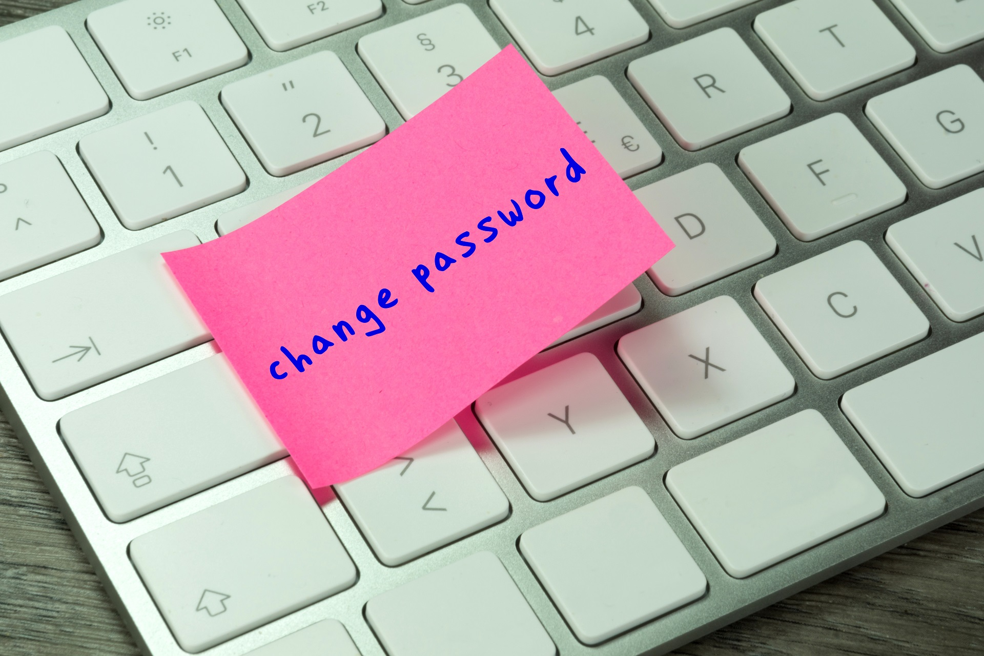 Create a passphrase instead of a password.