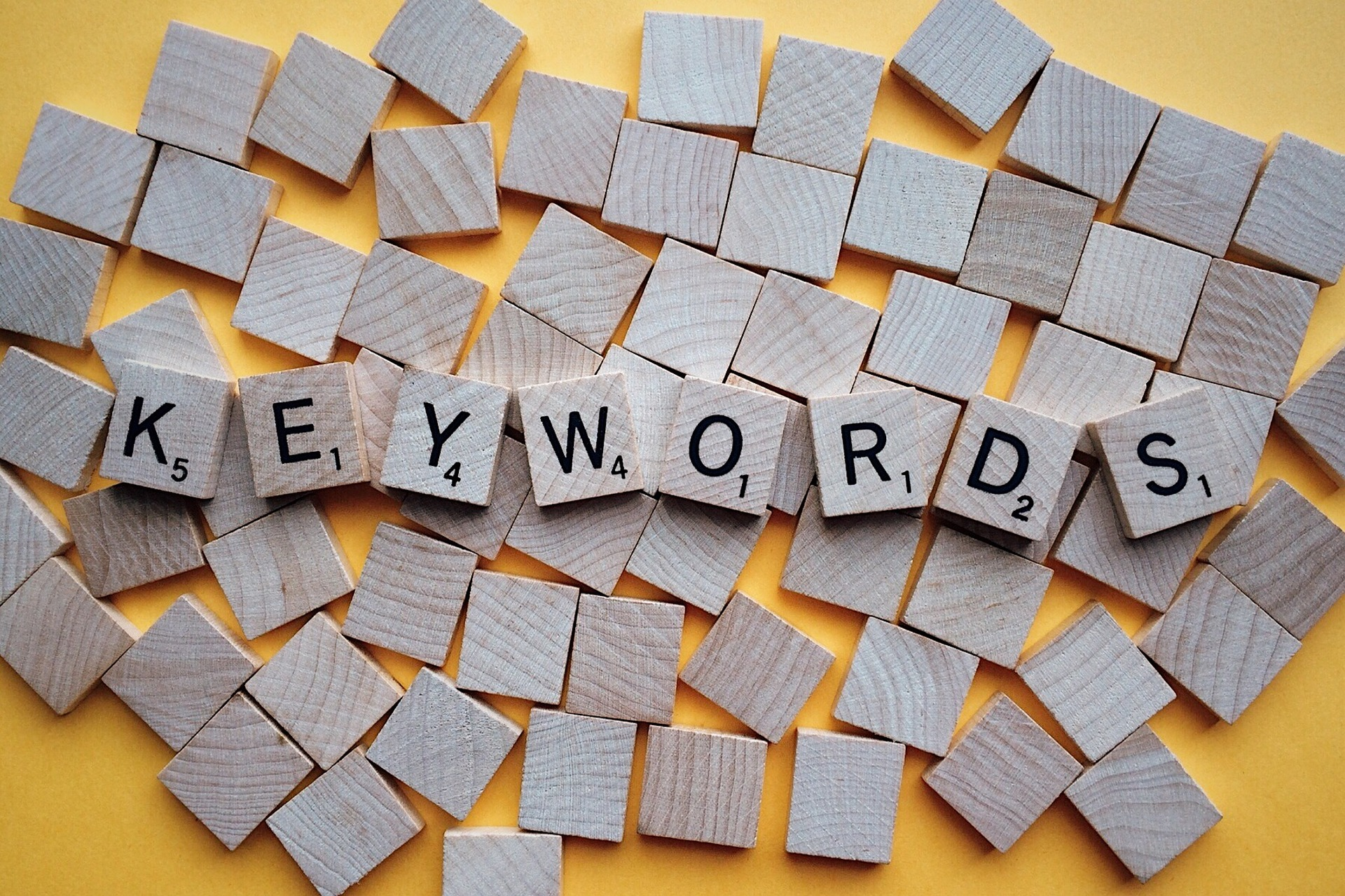 Have a keyword strategy