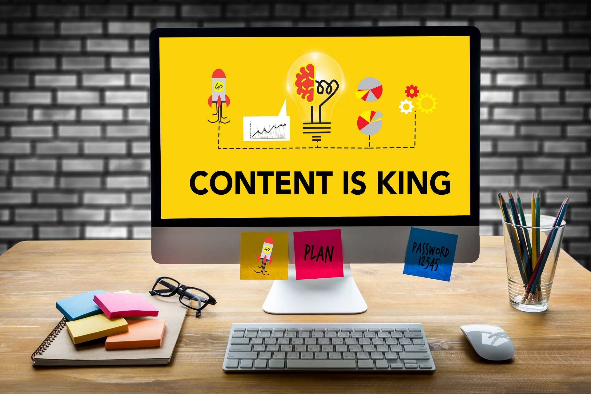 Content is king, but quality is what matters.