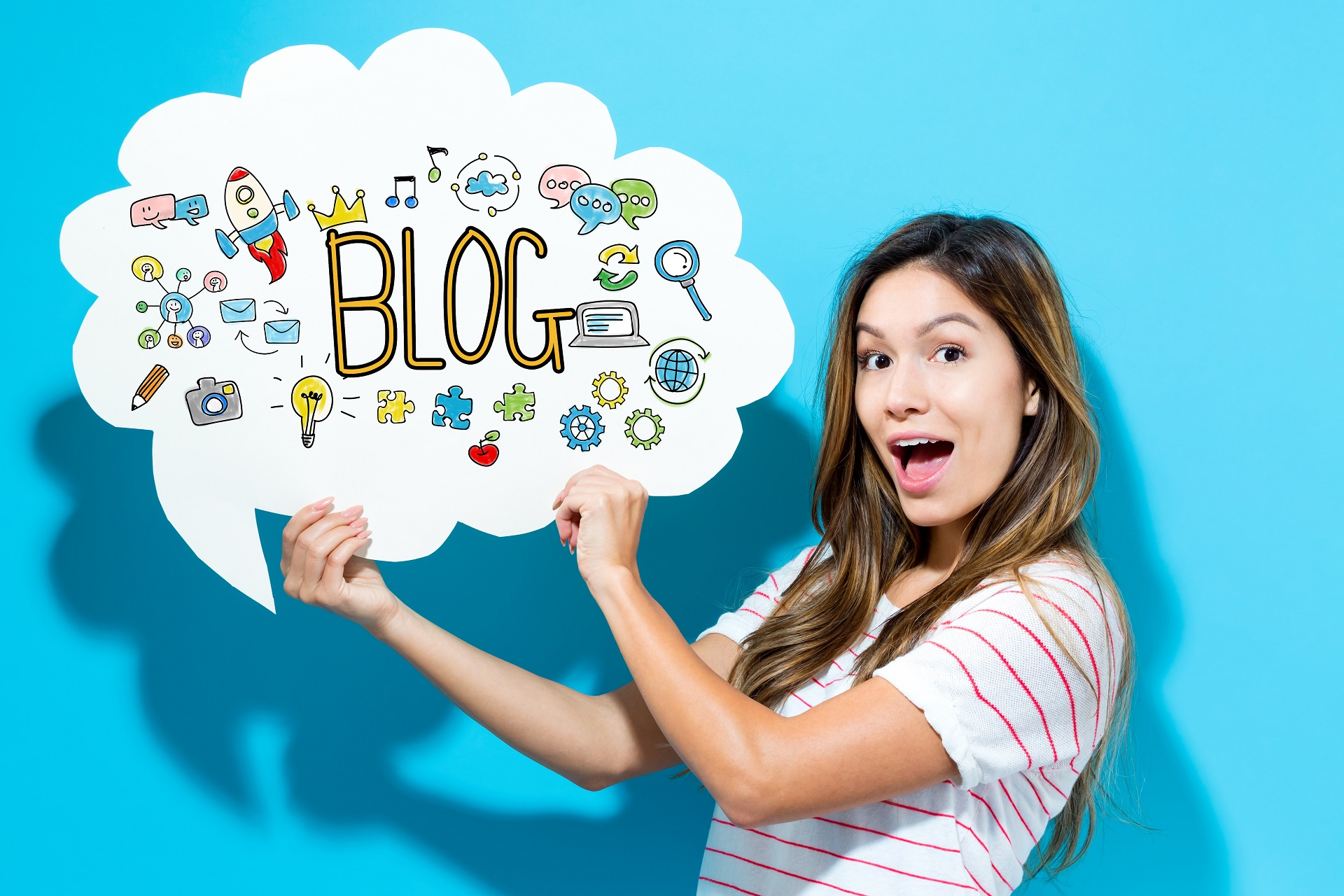 Create a blog for your website.
