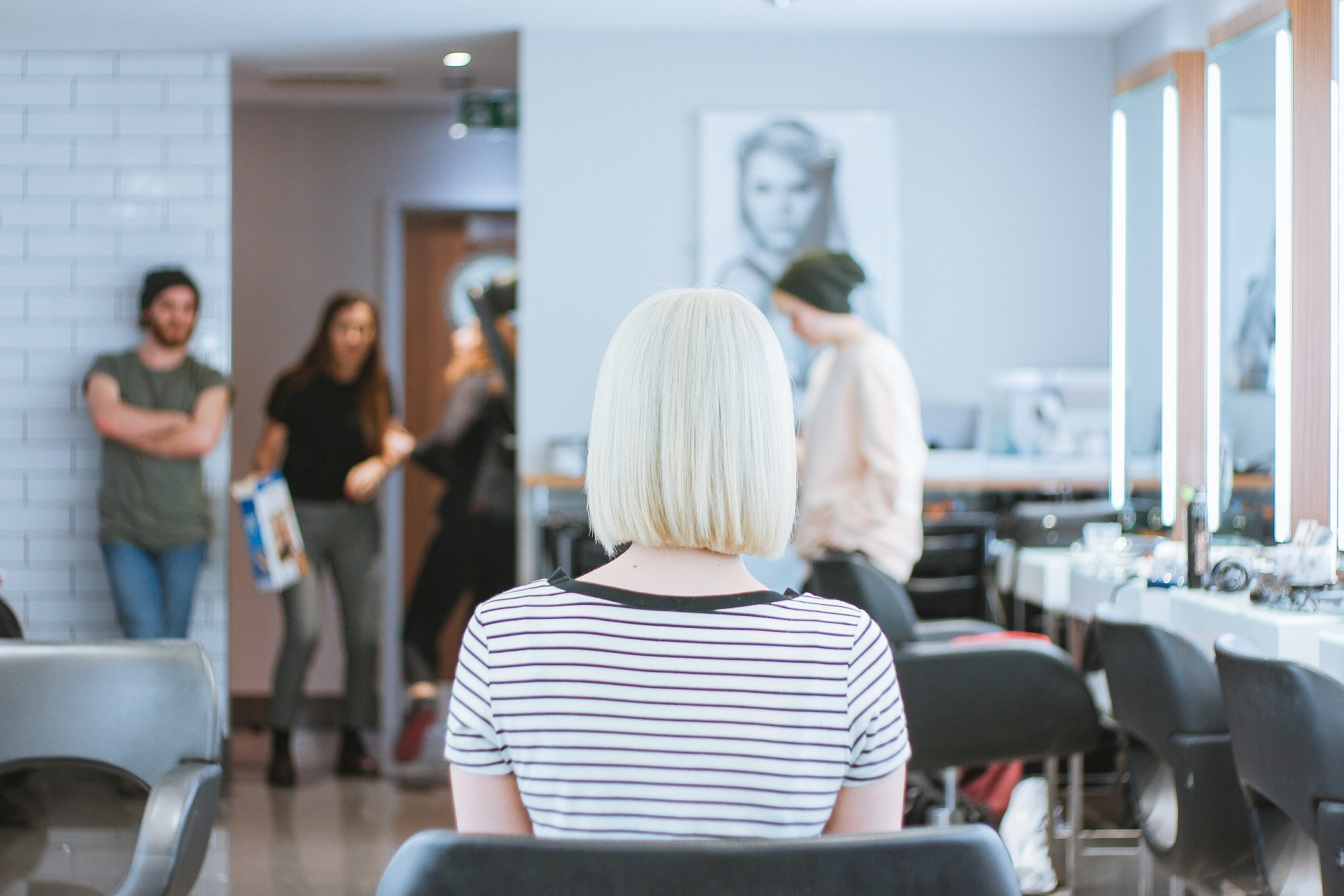 A website can help bring more customers to salons.